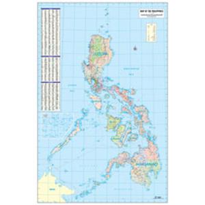 Philippine Map Political Full Customization Accu Map Inc